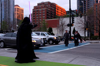 The Jedi and Sith Battle of Grant Park